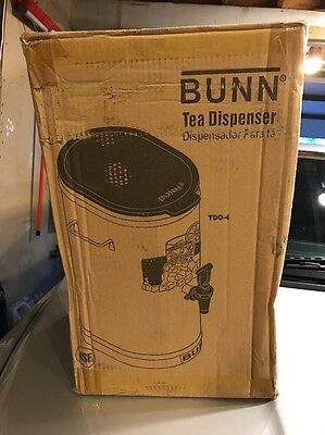 Bunn Iced Tea/coffee Dispenser Tdo- 4