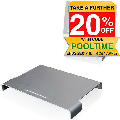 Just Mobile Mtable Aluminium Base Stand Lift for Apple MAC/Monitor/Laptop/iMac