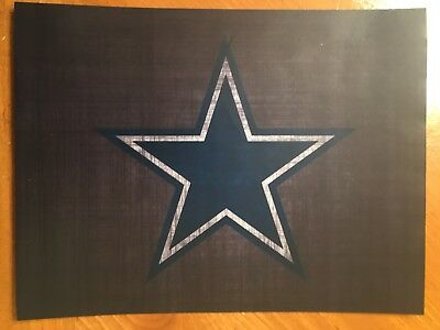 Tin Sign Vintage Dallas Cowboys NFL 5