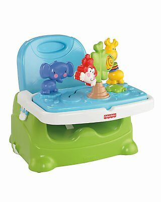Baby Booster Seat Feeding Chair Table Toddler Safety Toys Tray Folding Portable