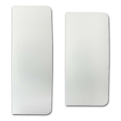 PME Set of Tall and XTall Plain Plastic Scraper Set for Cake Buttercream Icing