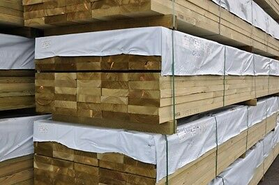 47x100mm 4x2 Treated Softwood C24 Eased and Regd Kiln Dried Imported