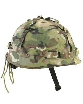 Kombat M1 Plastic Helmet with Cover BTP Olive Green Fully Adjustable Kids/Adults