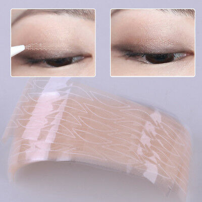 120 Pairs Invisible Lace Double Eyelid Stickers Tape Makeup Tool Accessories