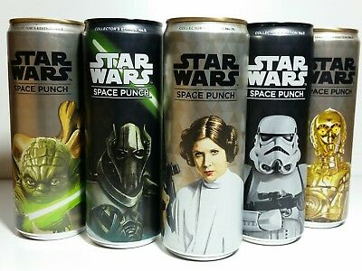 Star Wars Space Punch Sammler Getränke-Dosen 2/4/5/6/7/10 (Collectors Edition )