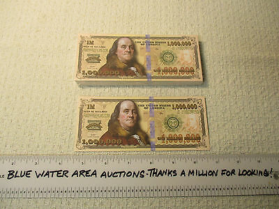 Package Pack (100) One Million Dollar Bill Gospel Tract, $1,000,000, Best Tracts