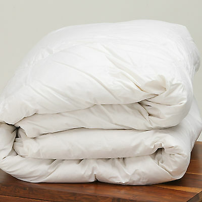Luxury 100% Pure Siberian Goose Down Duvet Quilt Double Bed 13.5 Tog All Seasons