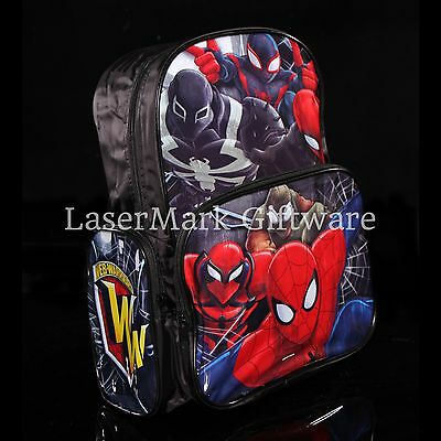 Brand new kids toddlers Spiderman backpack school bag Free Shipping