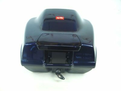BAULETTO ORIGINALE APRILIA SCARABEO 125 150 GENUINE Top box case BLU LORD