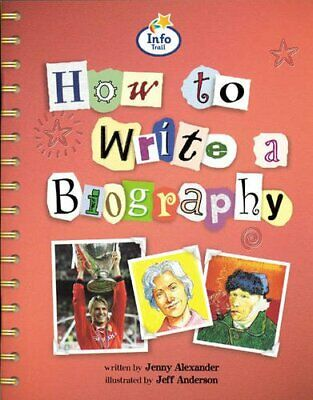 How to Write a Biography Info Trail Competent Book... by Coles, Martin Paperback