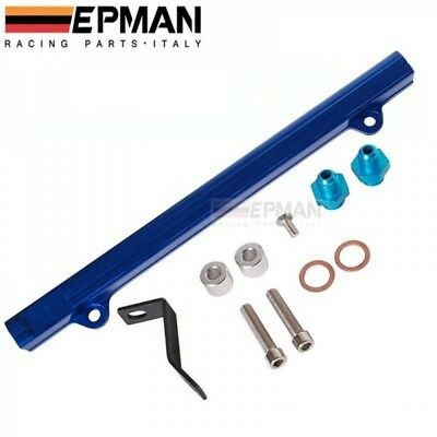 EPMAN Aluminium Billet Top Feed Injector Fuel Rail For Mitsubishi EVO 4 5 6 V VI