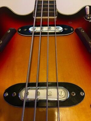 Vintage 1960s Violin Bass Guitar