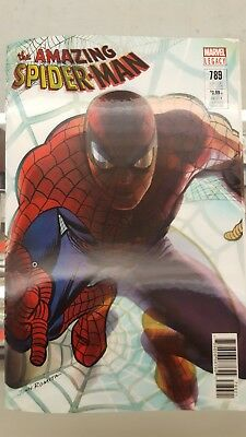 The Amazing Spider-Man #789 Lenticular Variant John Romita Alex Ross