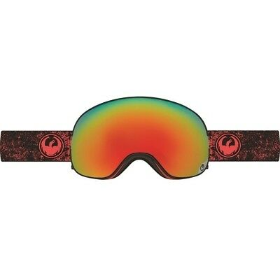 2c5c0cfb42b NEW Dragon X2 Energy Scarlet Red Ion Mens Ski Snowboard Goggles + Lens Msrp  220