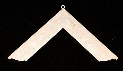 MASONIC COLLAR JEWEL Worshipful Master SILVER