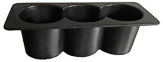 Krowne Three Compartment Bottle Wells For Ice Bins 30-500
