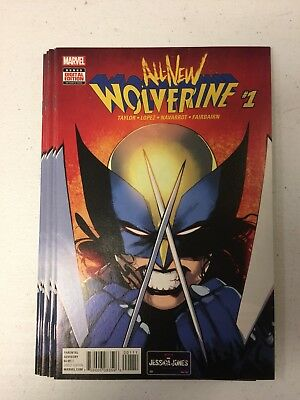 All New Wolverine #1 X-23 - 1st Laura Kinney as Wolverine. NM