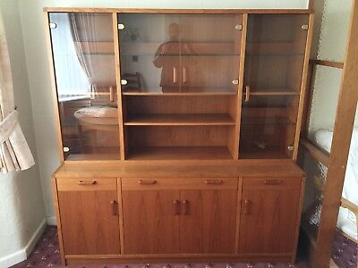 Danish Teak Dresser, Large 2 Piece