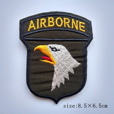 US 101st Airborne Division (Air Assault) WW2 Army Shoulder Patch Iron on Badge