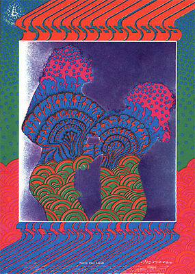 Moscoso FD 81 Youngbloods Other Half Family Dog Avalon Ballroom postcard FD81