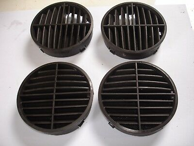 Windscreen Demist Vents x 4 in Bokhara Brown for Range Rover Classic