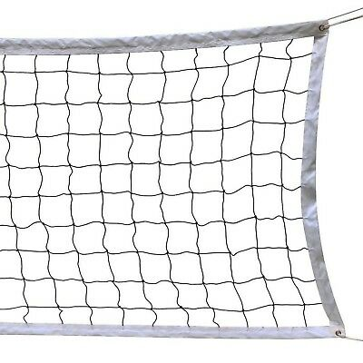 NKTM Outdoor Sports Classic Volleyball Net for Garden Schoolyard Backyard Bea...