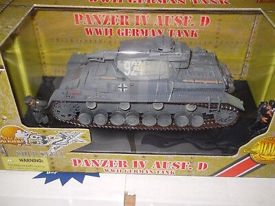 1/32 ULTIMATE SOLDIER 21st CENTURY WWII GERMAN Panzer IV AUSF. D TANK cold steel