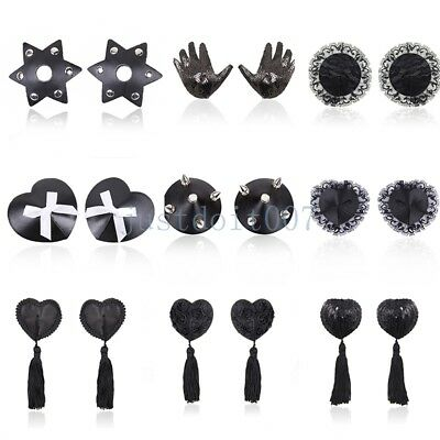 Sexy Multi Shape Reusable Self Adhesive Silicone Breast Nipple Cover Pad Pasties