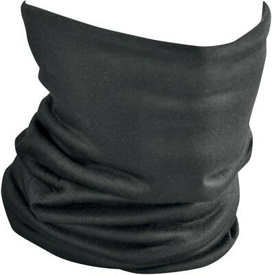 Zan Headgear Motorcycle/Snowmobile Black Fleece Lined Motley Tube Neck Warmer