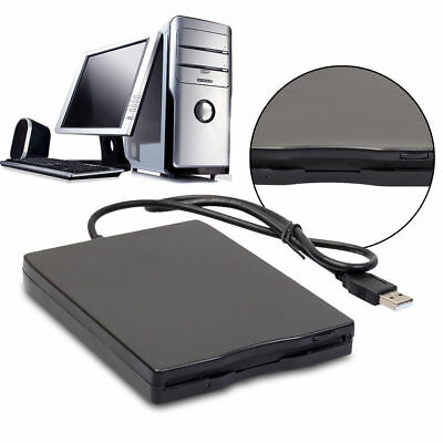 "USB 1.44MB External Floppy Disk Diskette Drive FDD 3.5"" For Windows MAC Laptop"