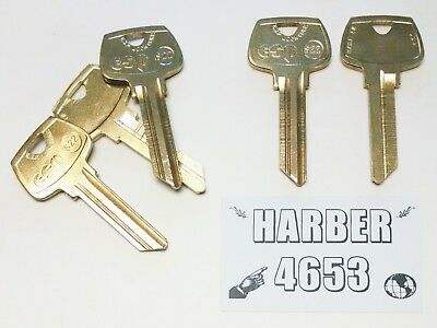 S22 Key Blanks for Various Products by Sargent (5 Keys)