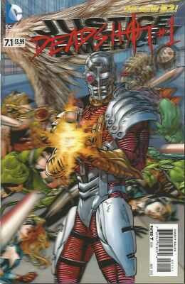 Justice League Of America #7.1 - 3D Cover - Deadshot - Dc Comics - Brand New