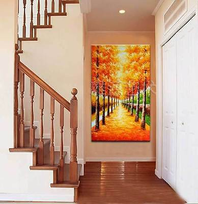 CHENPAT31 modern landscape tree art 100% hand-painted oil painting on canvas
