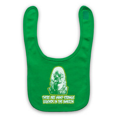 Black Lagoon The Creature From Unofficial Horror Film Baby Bib Cute Baby Gift
