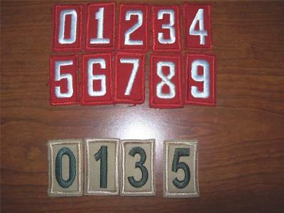 BSA Boy and Cub Scout RED OR TAN Troop Pack Number  You pick # and Quantity Used