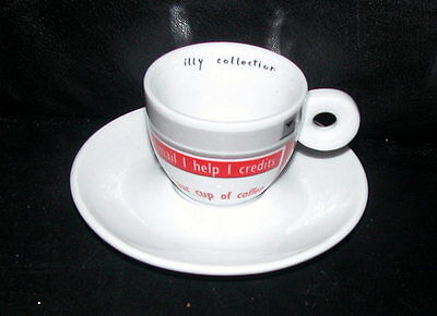 Illy Collection 2002: Espresso-Tasse No Water No Coffee #02836 Your cup of coffe