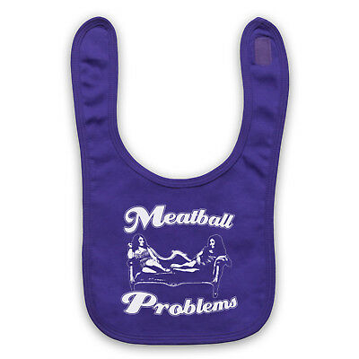 Jersey Shore Unofficial Meatball Problems Snooki Tv Baby Bib Cute Baby Gift