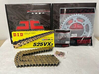 Yamaha Mt09 Chain And Sprocket Kit 14-17 Heavy Duty Did Gold X-Ring