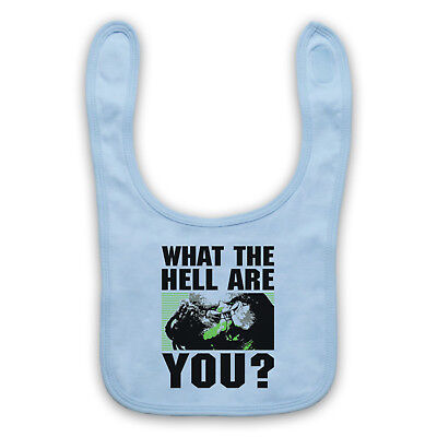 Predator Unofficial What The Hell Are You Alien Face Baby Bib Cute Baby Gift
