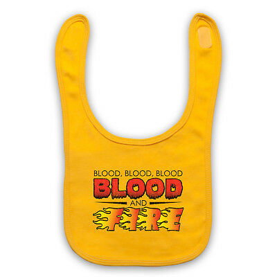 Blood And Fire Unofficial Niney The Observer Reggae Baby Bib Cute Baby Gift