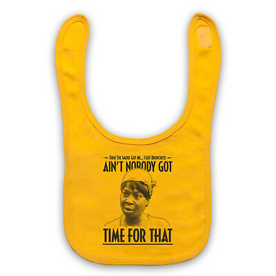 Ain't Nobody Got Time For That Unofficial Sweet Brown Baby Bib Cute Baby Gift