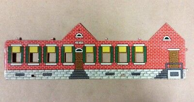 1914 Tin West Bro Red One Room School House Unformed FREE SHIPPING INVP046