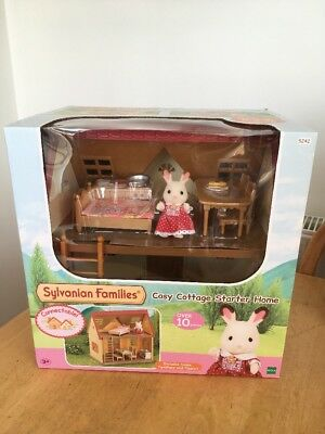 Sylvanian Families Cosy Cottage Starter Home Set Free Delivery House Furniture