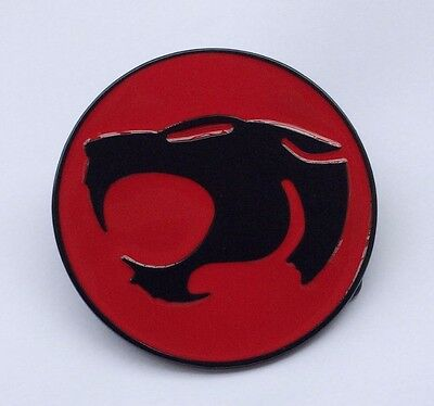 THE THUNDERCATS Logo Belt Buckle Grey Gun Metal