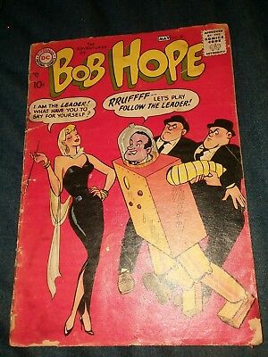The adventures of bob hope #50 dc comics golden age lot run set movie collection