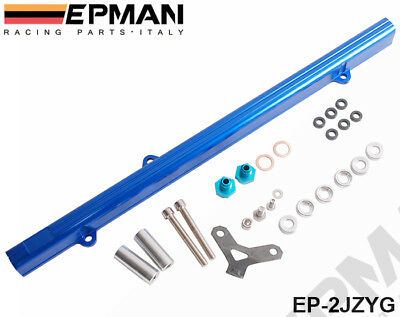 Epman Injector Top Feed High Flow Fuel Rail Kit Toyota 2Jz Chaser Supra Altezza