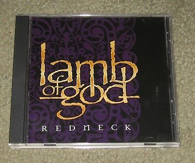 Lamb Of God - Redneck (CD, 2006, Epic) Promo 4-Track Single