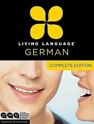 Living Language German Complete Edition Beginner Advanced [W by Living Language