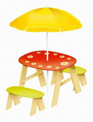 House of Toys Flower Picnic Table and Parasol