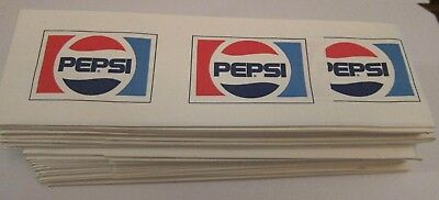 (30) Vintage Pepsi  Soda Jerk Fountain Paper Hats. New Old Stock. 2 styles